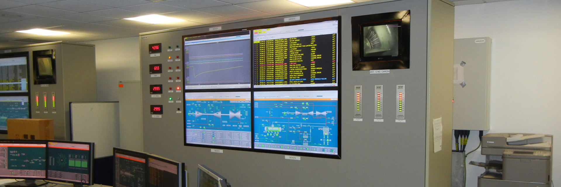 Video Wall at Pembroke Power Station