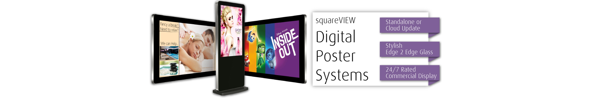 Digital Posters and Digital Display Screens USB