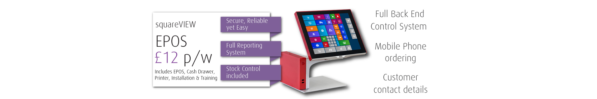 EPOS Systems for Take Away and restaurants