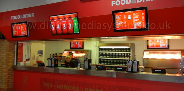 Liverpool FC choose us for EPOS and Digital Menu Boards