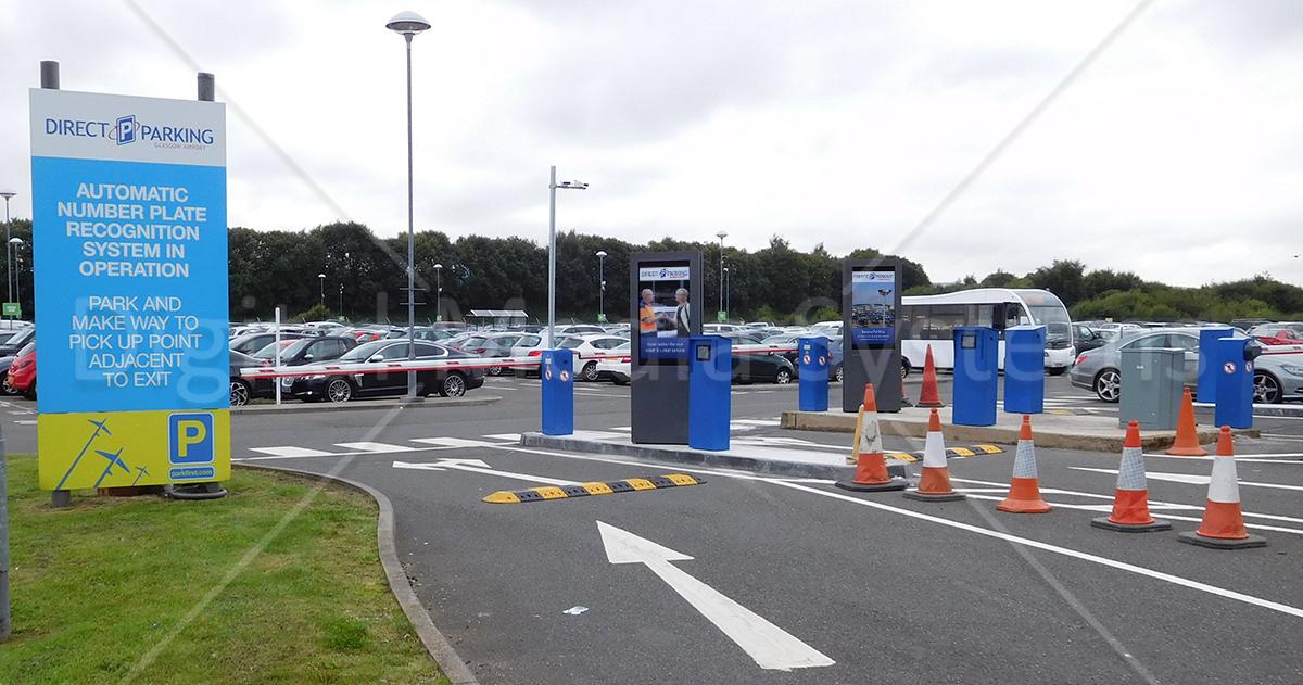 Outdoor screens for ANPR Car Parks
