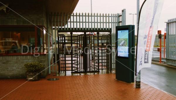 Pembroke Power Station – FLOWMotion 47″ Single Sided Display