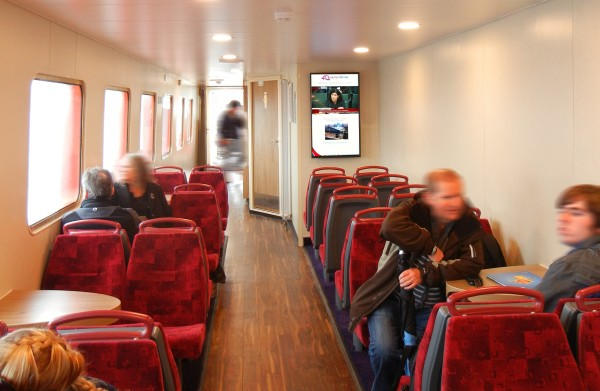Western Ferries – squareVIEW Digital Signage Installation