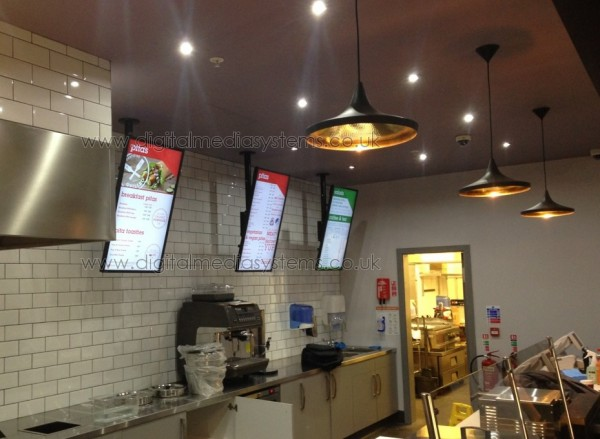 Pita Pit Digital Menu Boards and EPOS Systems