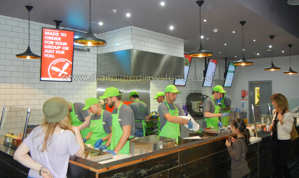 Pita Pit Digital Menu Boards And Epos Systems Digital