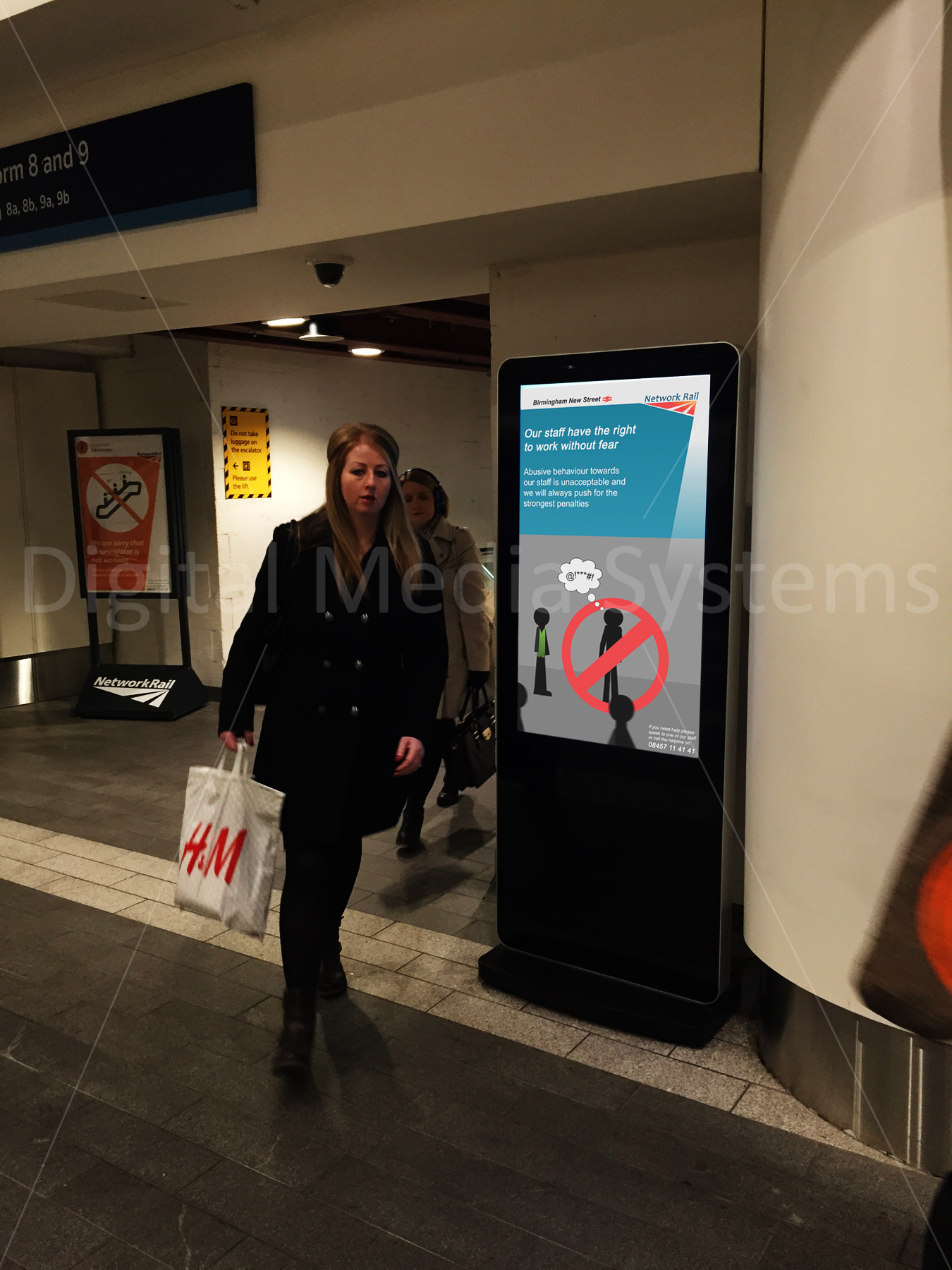 Digital Signage at Network Rail