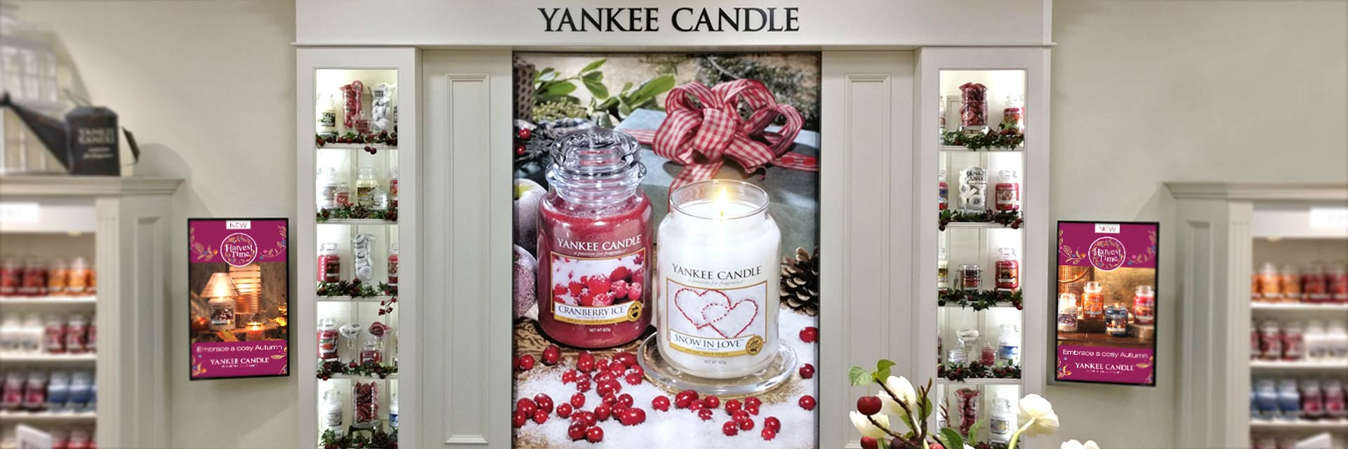 Yankee Candle POS Signage – Bluewater Shopping Centre, London