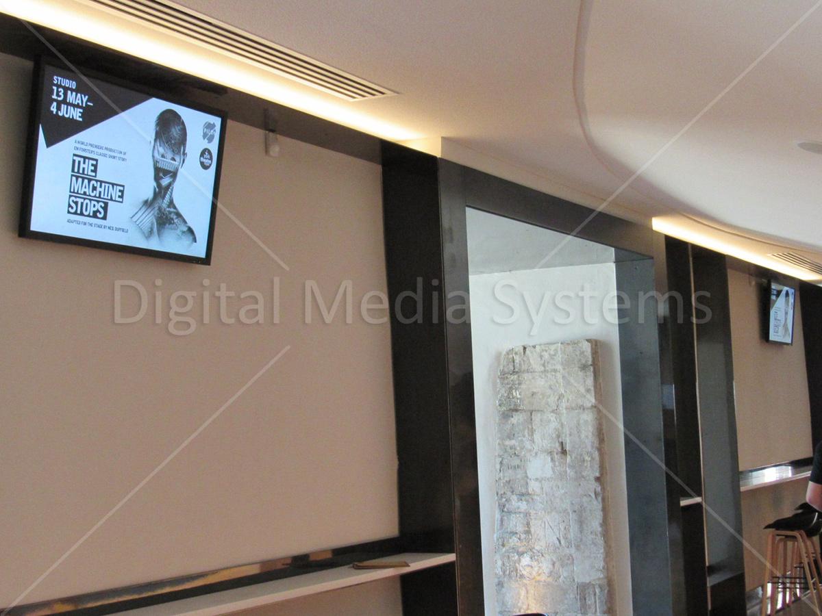 Screens at the York Theatre Royal Digital Signs