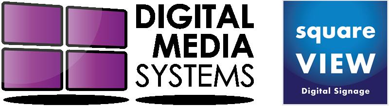 Digital Media Systems Digital Signage Company squareVIEW Logo