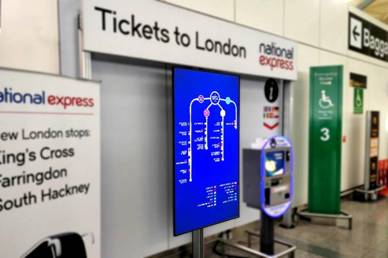 Digital Signs National Express