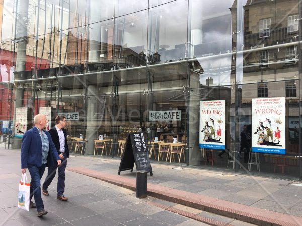 Festival Theatre – Edinburgh, Window Displays