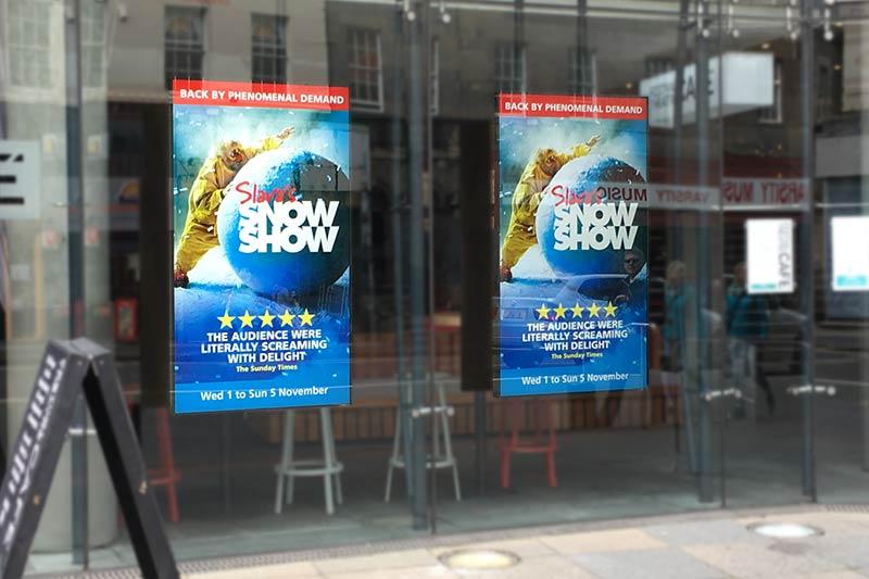 Digital Signage Screens at Festival Theatre Edinburgh