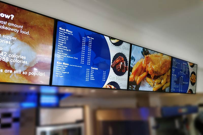 Forehill Cafe Menu Boards