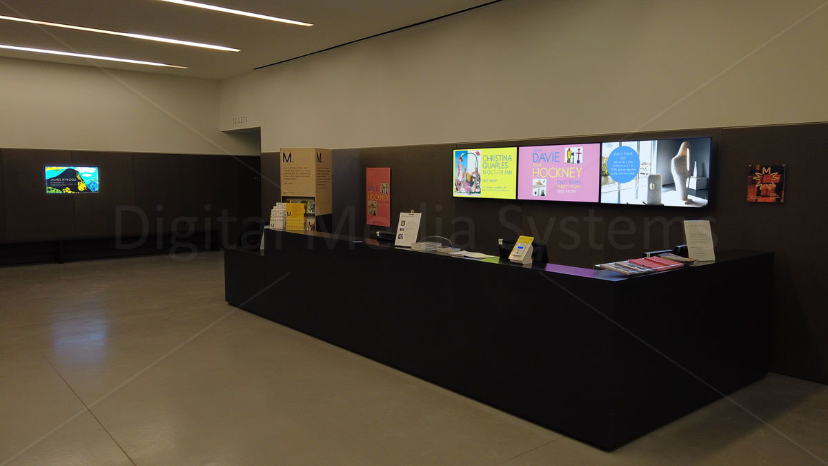 Hepworth Museum Digital Screens
