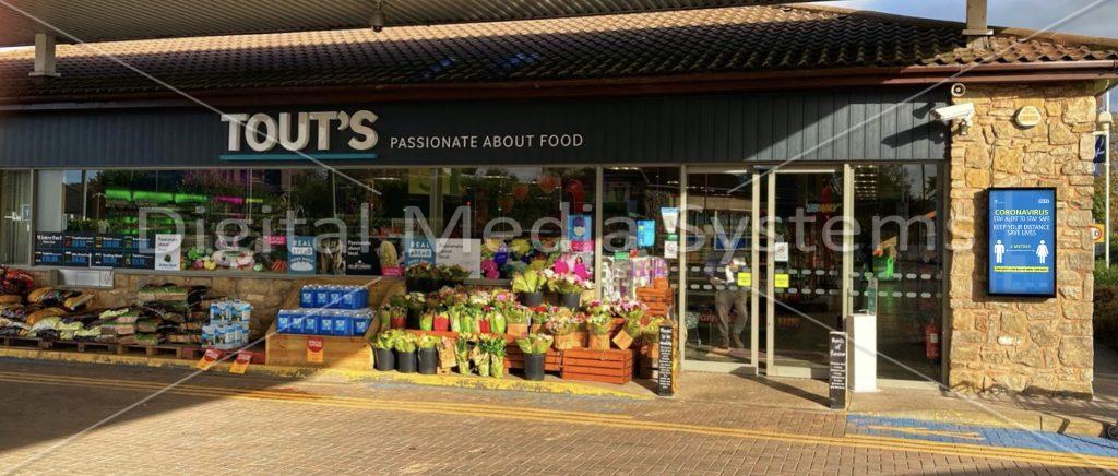 Outdoor Digital Sign Touts Langford