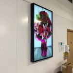 Digital Display Screens at MM Flowers