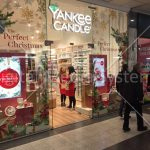 """Yankee Candle Screens at Manchester Arndale 49"""" Advertising"""