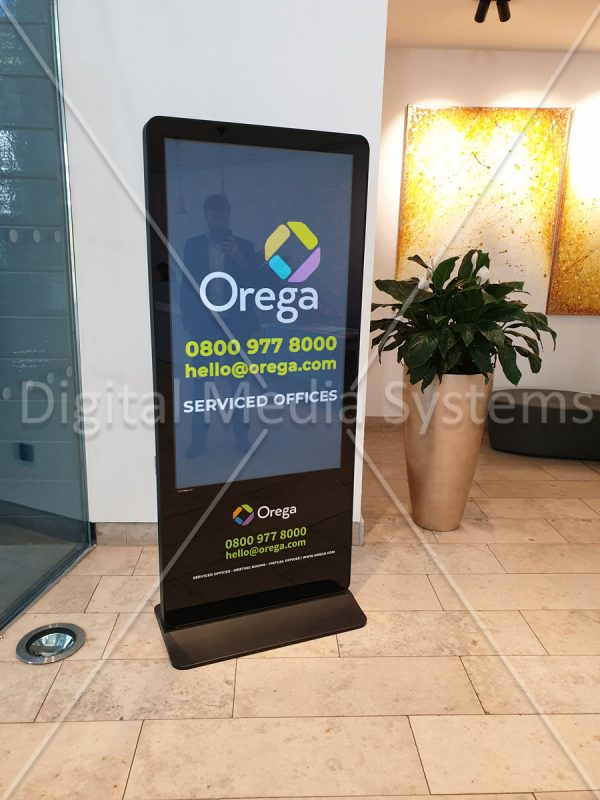 Serviced offices Liverpool Digital Sign