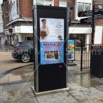 Scarborough Council Digital Sign totem kiosk