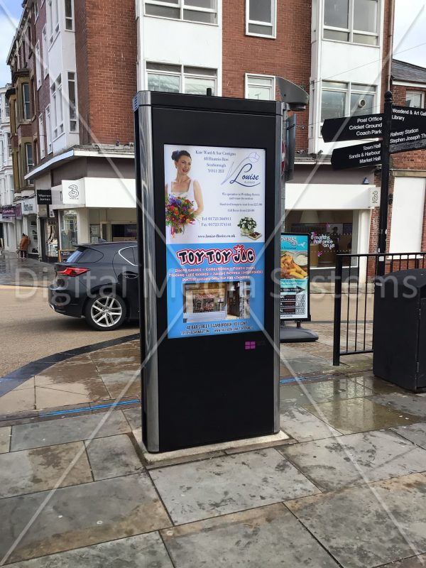 Scarborough Council Digital Sign totem kiosk