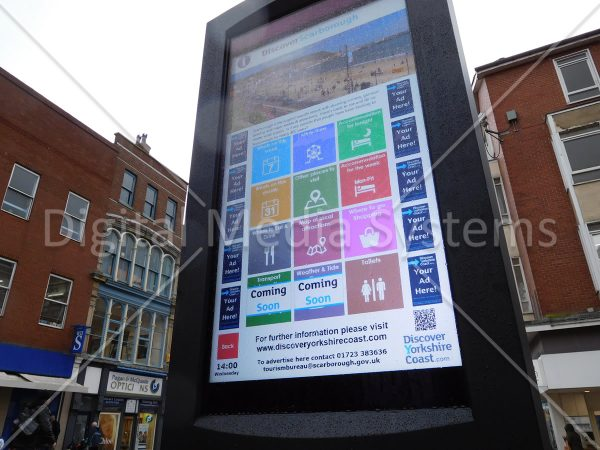 Scarborough Outdoor Display 47″ Double Sided Touch