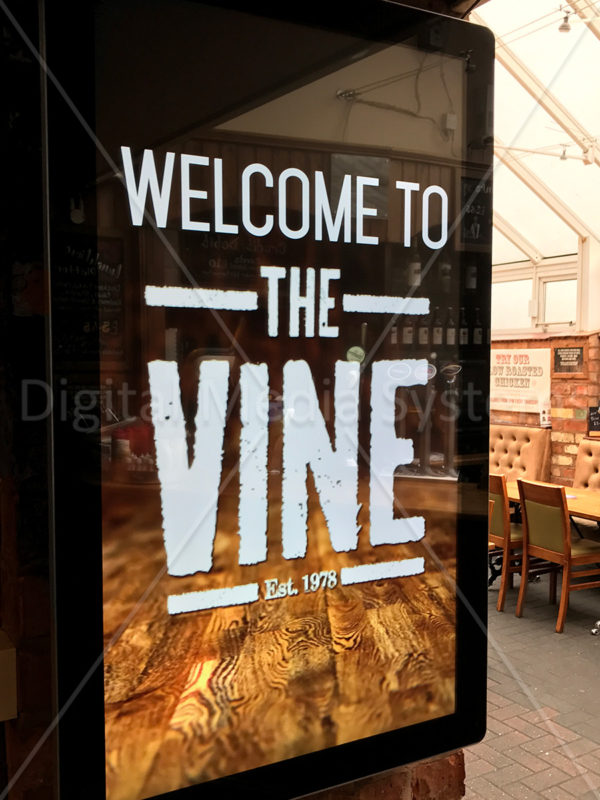 The Vine – Digital Menu Boards