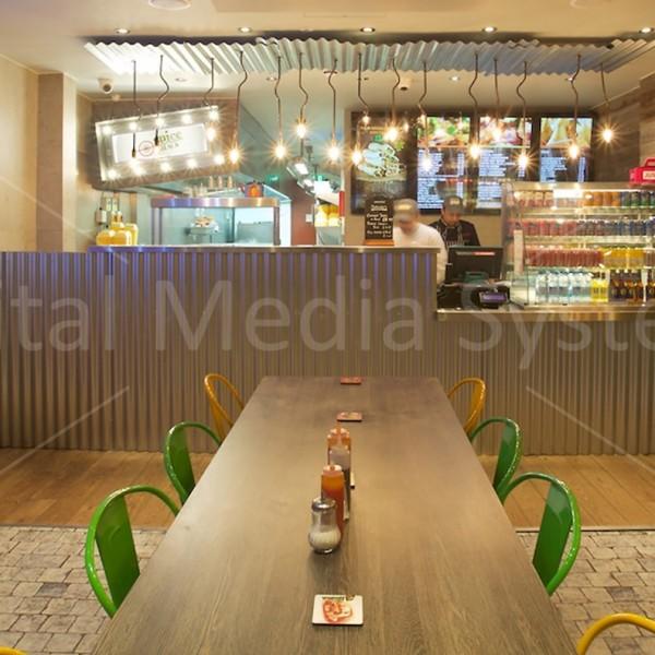 Four Digital Menu Boards London
