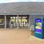 Westonbirt Arboretum Visitor Centre Outdoor Display Screen