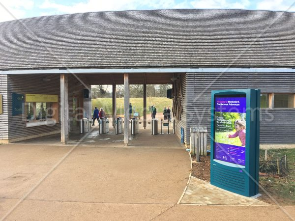 Westonbirt Arboretum Visitor Centre Outdoor Display Screen
