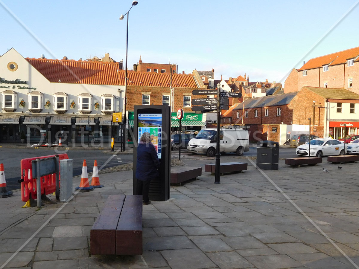 Whitby Tourist Information Screens