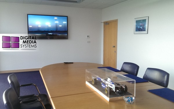 Williams F1 Boardroom – 70″ LED Screen