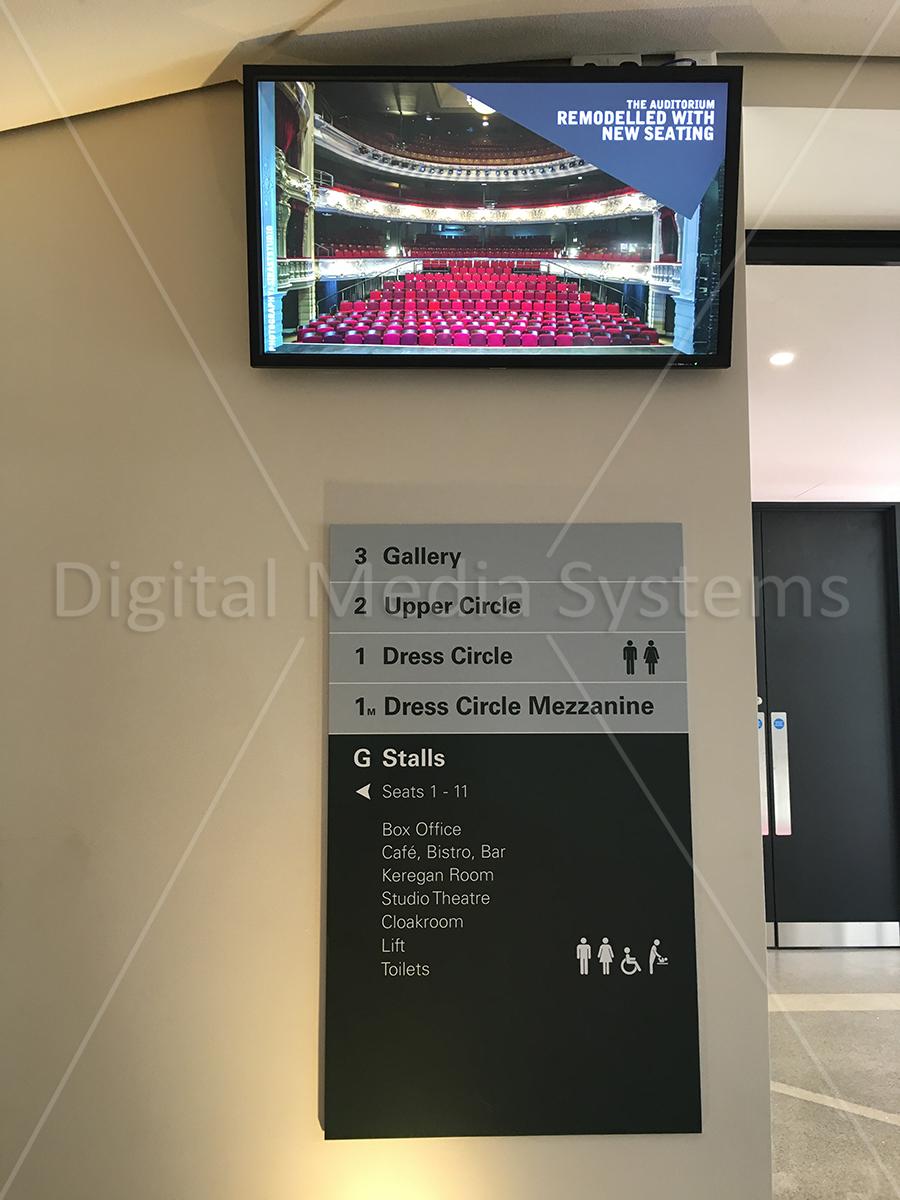Digital Screens for York Theatre