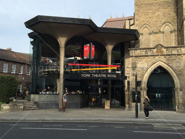York Theatre Royal – External 3 x LED displays