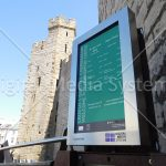 Caernarfon Castle Digital Signage Screen