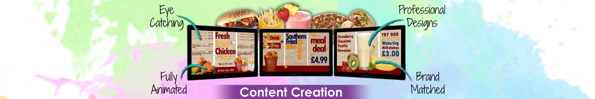 Content Creation Banner