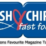 Fish and Chips and Fast Food Takeaway Logo