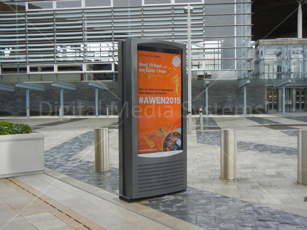 Outdoor Screen Displays Cardiff