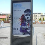 Outdoor Digital Signage Screens, Totem Style 75 inch