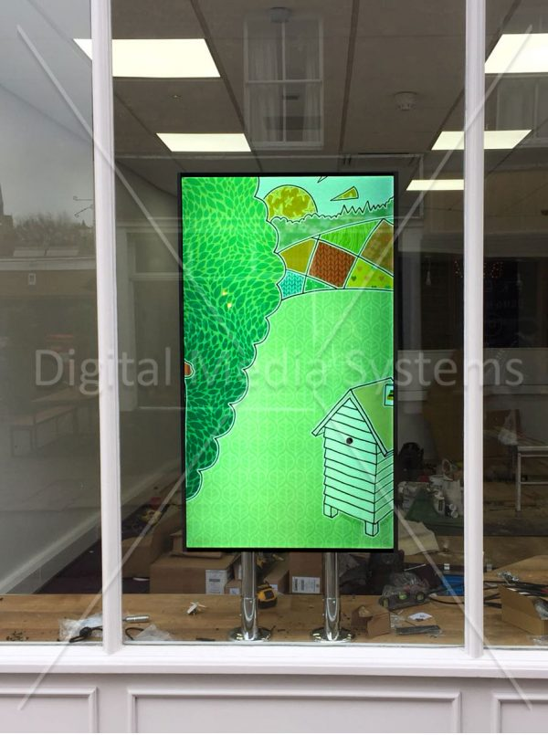 Woodbridge Digital Window Screen