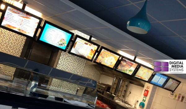oh my cod! standalone Digital Menu Boards