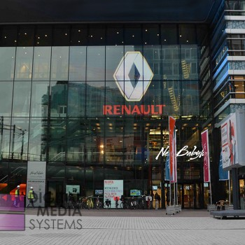Clear LED Video wall installed at The New Babylon shopping Centre, The Hague